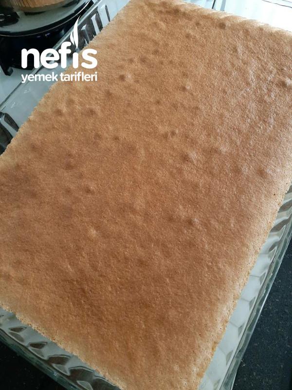 Meyveli Karamelize Soslu Pasta