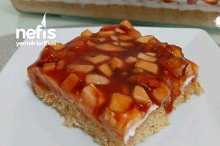 Meyveli Karamelize Soslu Pasta Tarifi