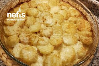 Her Öğün Yenilebilen Kremalı Patates Tarifi