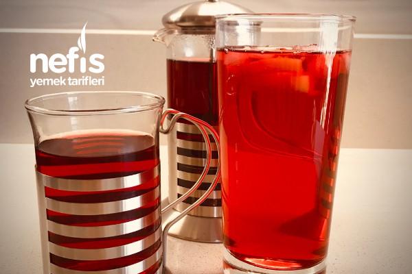 Hibiskus Çayı (Sıcak veya Soğuk)