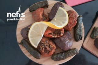 Kuru Patlıcan - Biber Dolma Tarifi