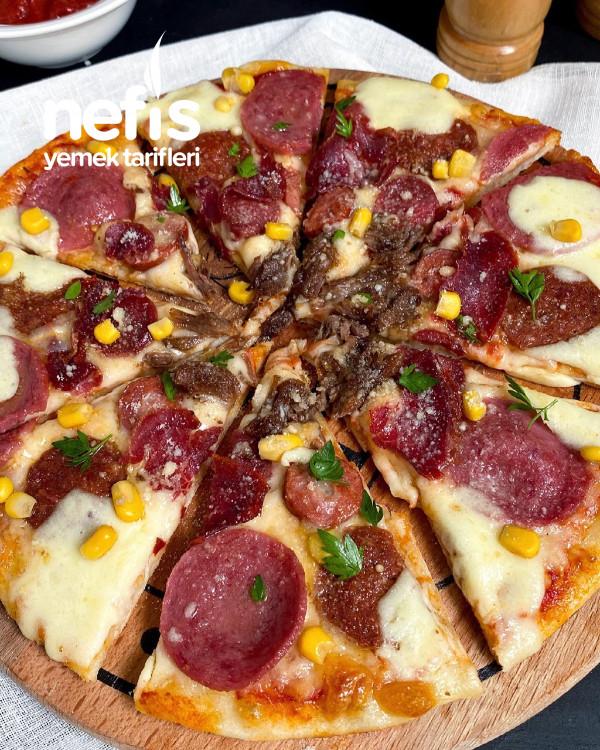 Püf Noktalarıyla Evde Pizza