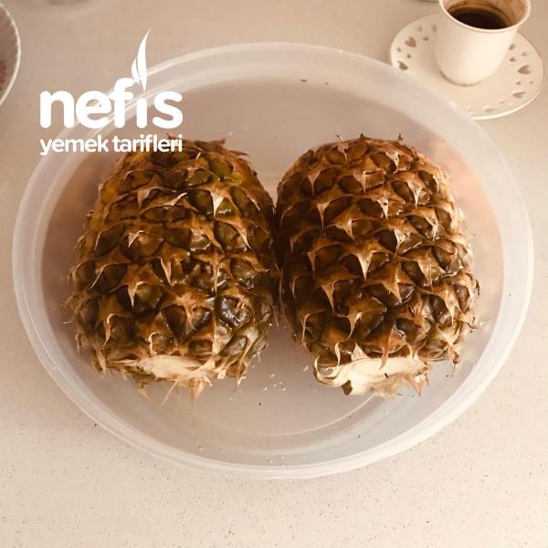Ananas Suyu (Kabuklarından)