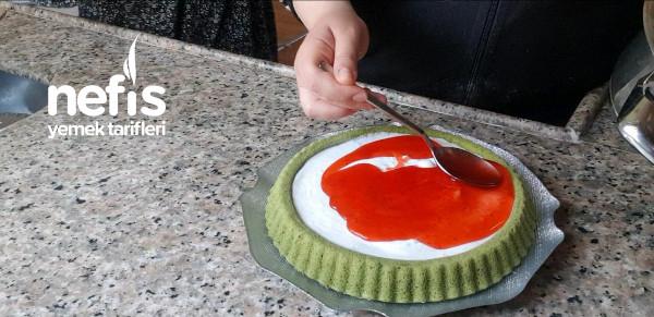 Doğal Gıda Boyası  Ispanaklı Pasta Tarifi