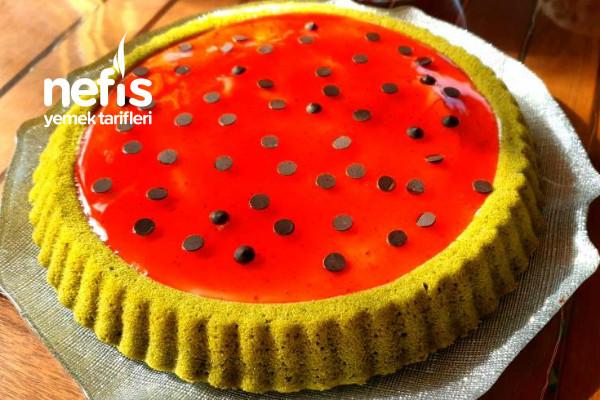 Doğal Gıda Boyası  Ispanaklı Pasta Tarifi (Videolu)
