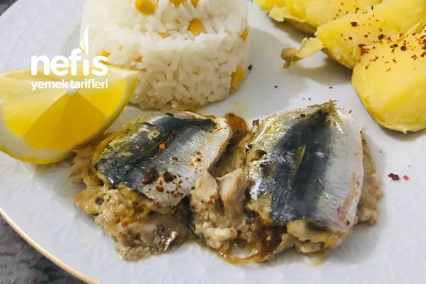 Fırında Soğanlı Balık