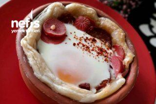Güveçte Omlet Tarifi