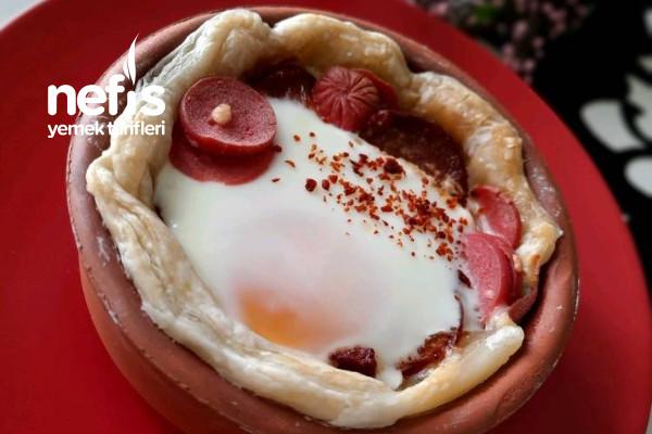 Güveçte Omlet