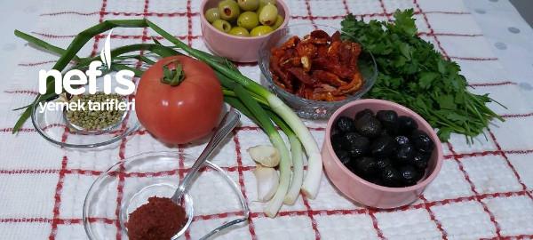 Nefis Zeytin Kavurması  Kahvaltıya  Sahura