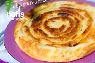 Tava Böreği (Kaşarlı Beyaz Peynirli) Tarifi
