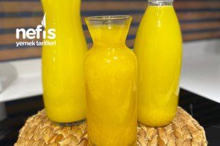 1 Portakal Ve 1 Limondan Limonata Tarifi