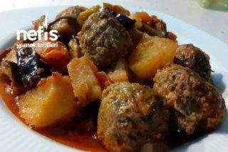 fırın Lezzeti Tadında Köfteli Sebze Yemeği Tarifi