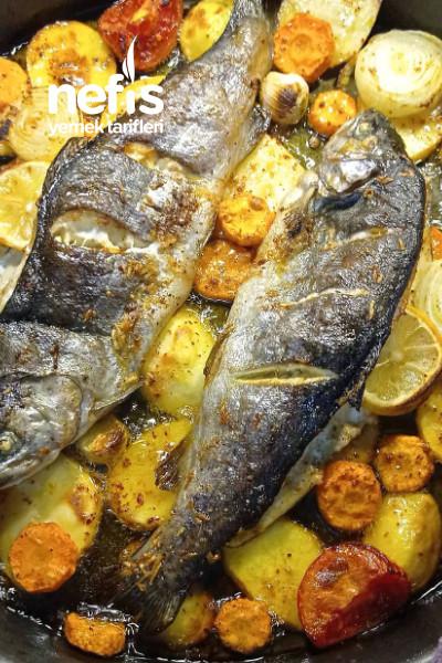 Fırında Patatesli Balık