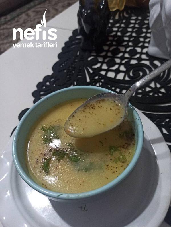 Sütlü Kabak Çorbası,kremalı Gibi