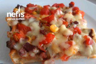 Borcamda Anne Pizzası Tarifi