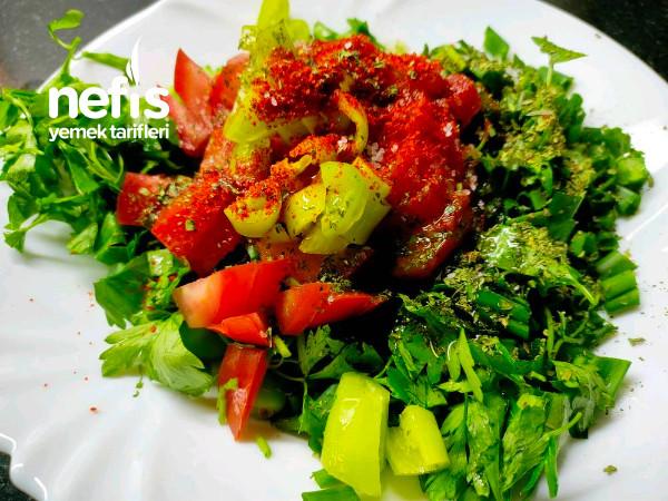 Cağala Salatası(peyvaz)