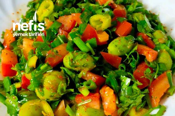 Çağala Salatası (Peyvaz)