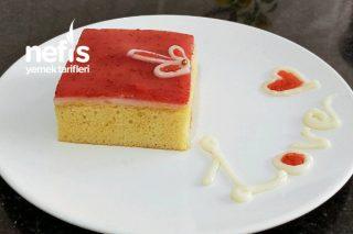 Çilekli Borcam Pastası (Trileçe Tadında) Tarifi