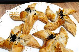 Milföy Hamurundan Pratik Peynirli Atıştırmalık Tarifi