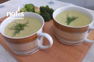 Sütlü Labneli Brokoli Çorbası Tarifi