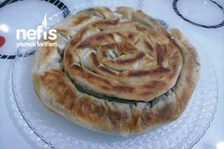 Tavada Ispanaklı Börek (Sahur İçin Çok Pratik) Tarifi