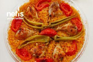 Fırında Bulgurlu Tavuk Baget Kapama Tarifi