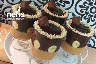 Karamelli Çikolatalı Kup Tarifi