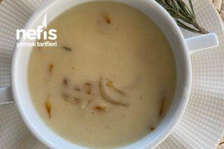 Kremalı Karamelize Soğanlı Patates Çorbası Tarifi