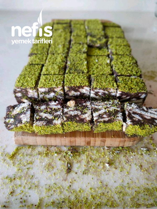 Lokmalık Mozaik Pasta