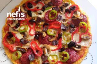 Omlet Pizza Tarifi