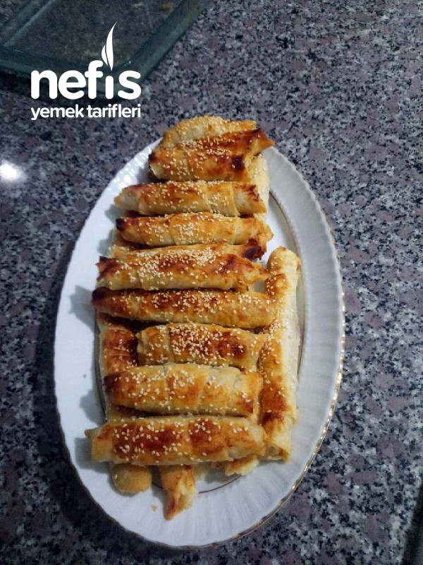 Patatesli Çıtır Börek (Az Malzemeli)