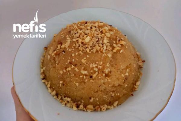 Sütsüz 3 Malzemeli Pratik İrmik Helvası