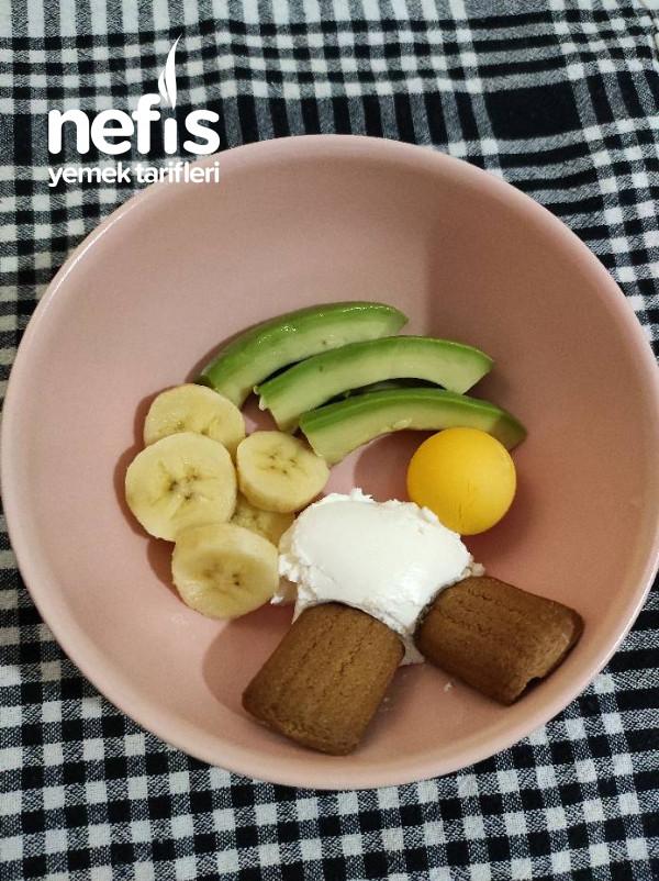 Avokado Ve Ruşeymli Vitamin Deposu Kahvaltı
