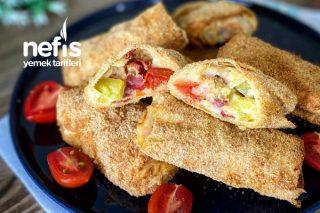 Baklava Yufkasından Fırında Paçanga Böreği Tarifi
