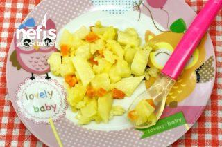 Bebekler İçin Zeytinyağlı Kereviz (9-12 Aylık) (Kış) Tarifi
