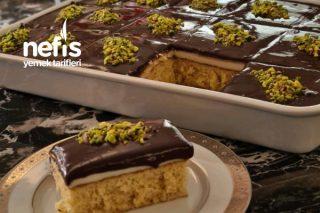 Çikolata Soslu Borcam Pastası (Enfes Bir Pasta Tarifidir)