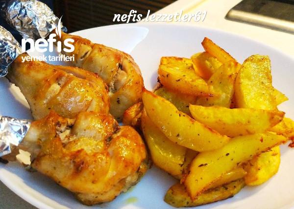 Fırında But Patates Çok Pratik Ve Çok Leziz