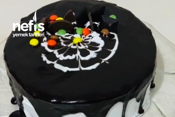 Fırınsız Kalıpsız Tencerede Doğum Günü Pastası (Videolu)