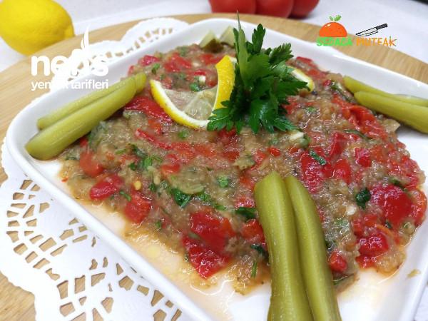 Herse Tarifi (Közbıberlı Patlıcanlı Salata Meze)