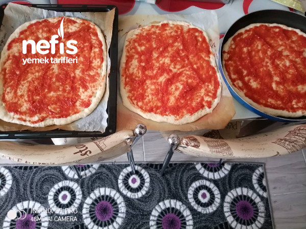 İftara Pizza Tarifi
