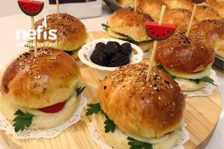 Mini Hamburger Ekmeği Tarifi