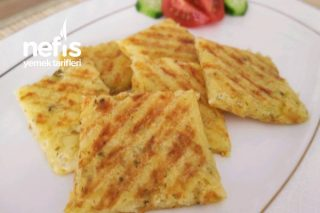 Çok Pratik Ve Leziz Kaşarlı Patates Tostu Tarifi