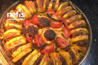 Fırında Patates Köfte Döşeme Tarifi
