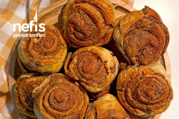 Haşhaşlı Roll Çörek
