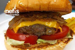 Karemelize Soğanlı Hamburger Tarifi