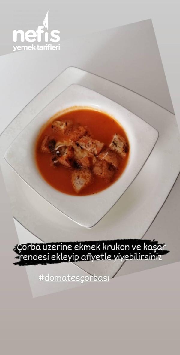 Közlenmiş Domates Çorbası Favoriniz Olacak