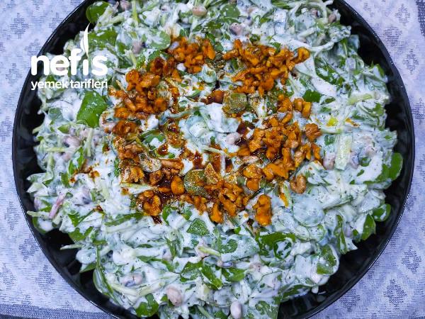 Kuru Börülceli semizotu Salatası