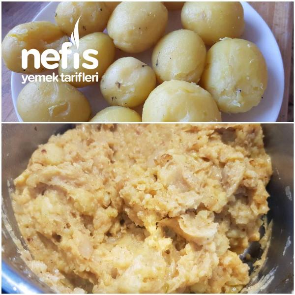 Patatesli Yağlı Bazlama