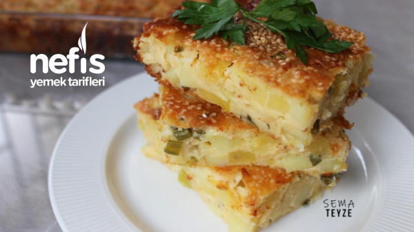 Peynirli Patatesli Kek