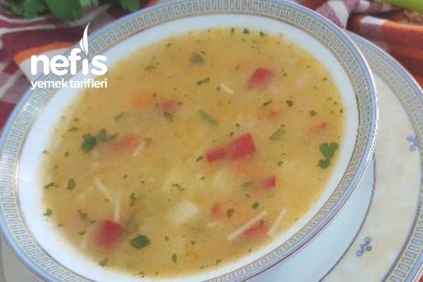 Şehriyeli Sebze Çorbası Tarifi